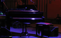 Ben Folds' piano sits empty following the European Tour de Farce 2007
